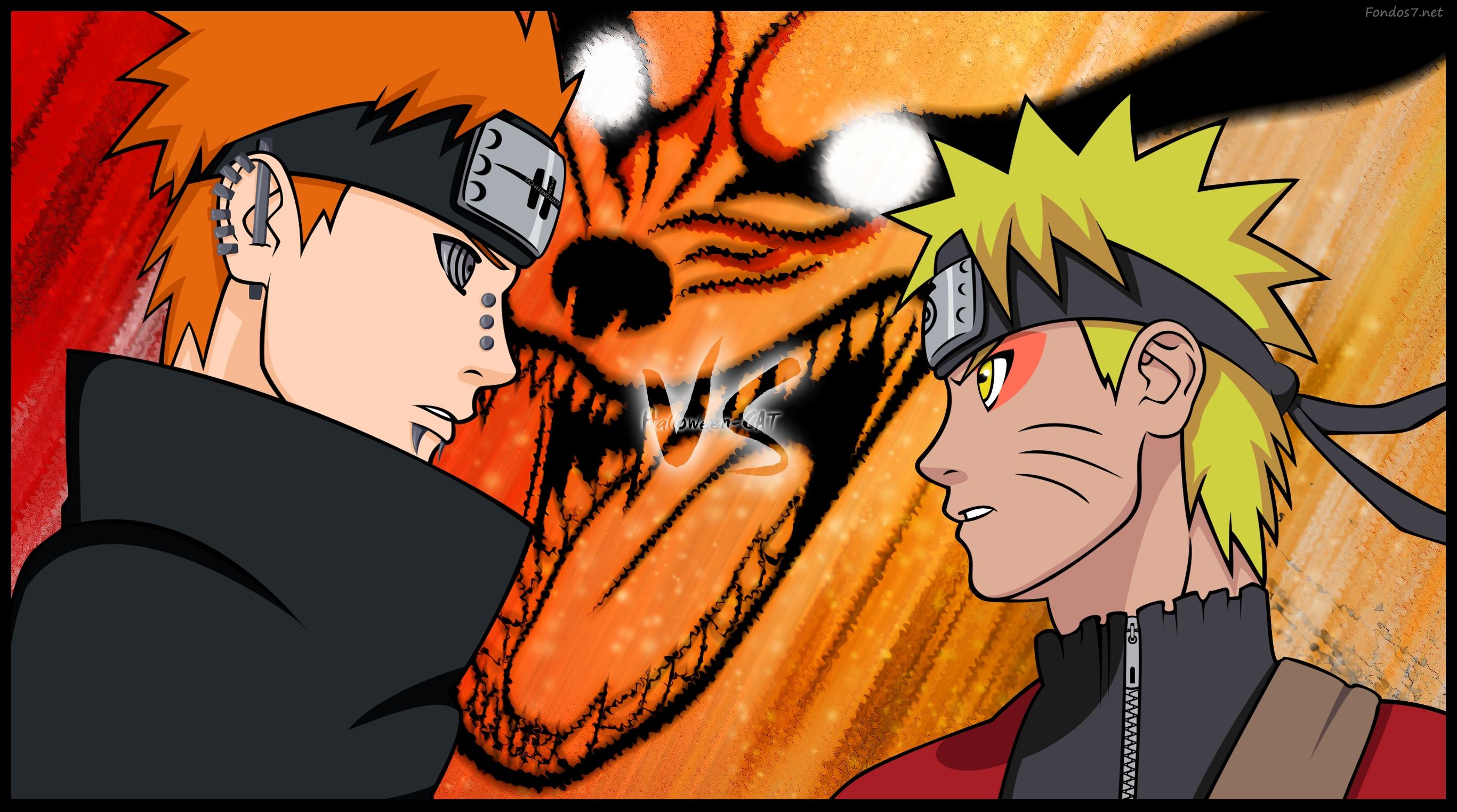 46+] Naruto vs Pain Wallpaper on WallpaperSafari