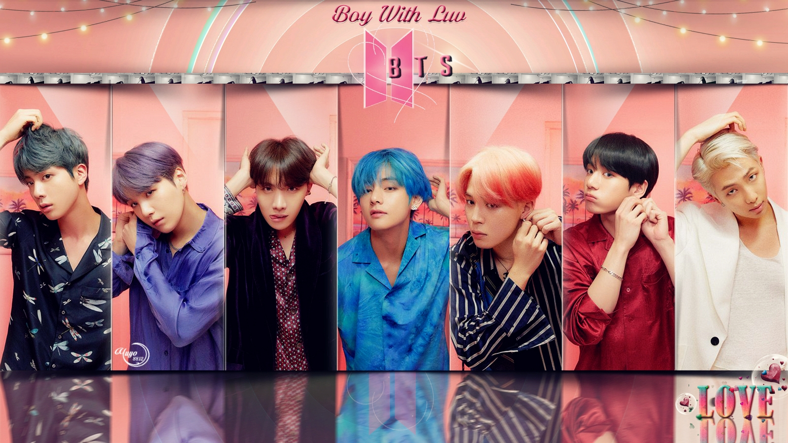 Bangtan Boys BOY WITH LUV WALLPAPER   yulliyo8812 foto 42738954 1600x900