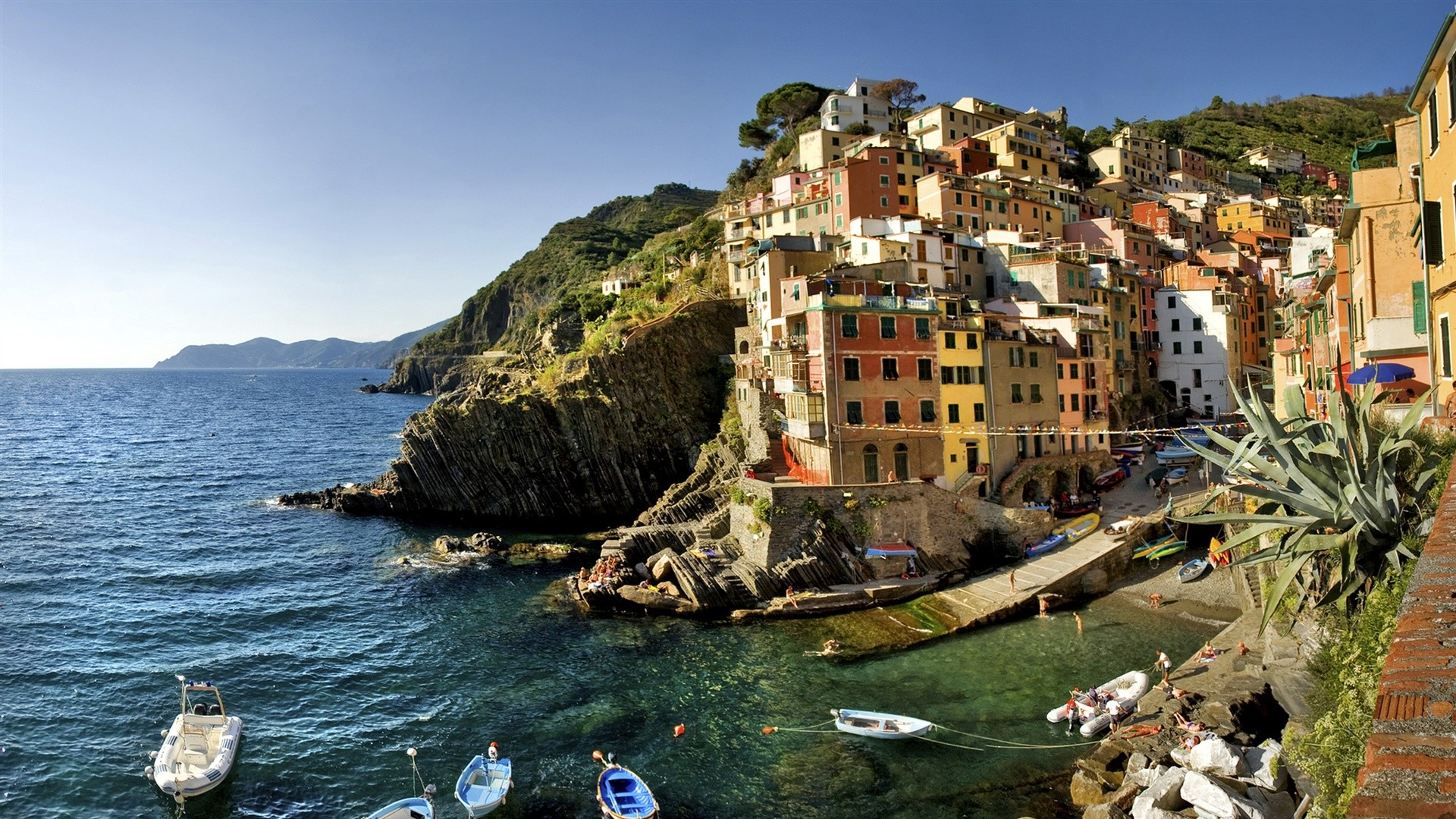 Italy sea wallpaper HD Desktop Wallpaper 1920x1080