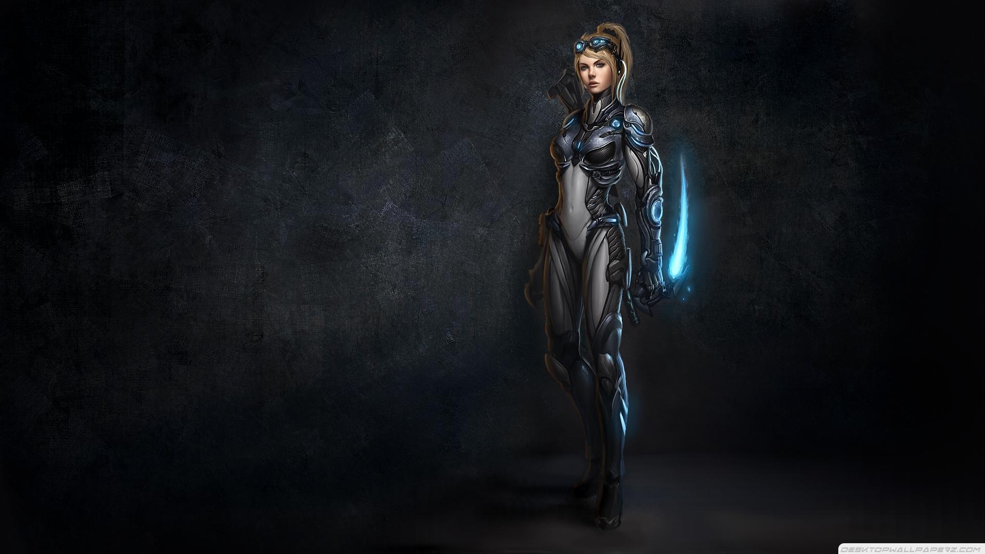 Ii Ghost Nova Artwork Female Warriors 19201080 81668 HD Wallpaper 1920x1080