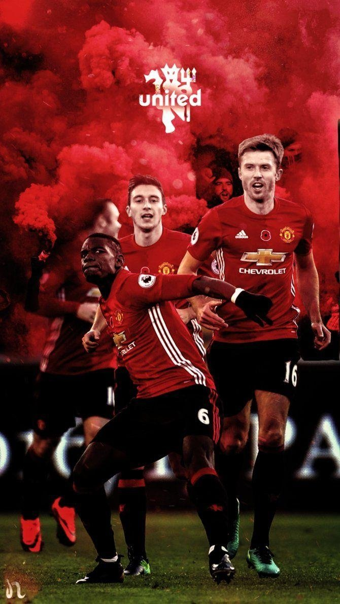 Elegant Wallpaper Of Manchester United 2017 Great Foofball Club 670x1191