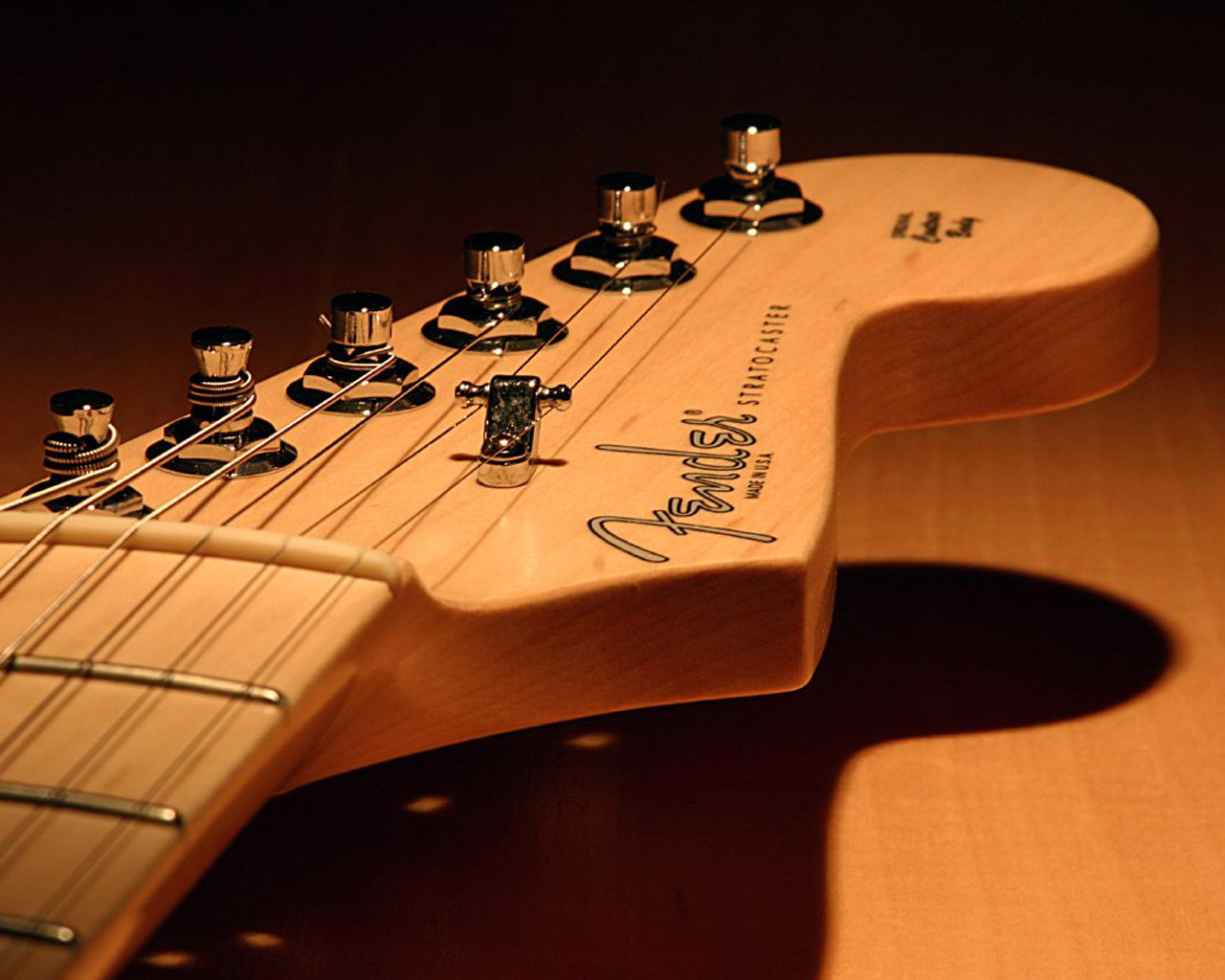 Guitar Wallpaper   Fender Stratocaster Headstock   1280x1024 Great 1280x1024