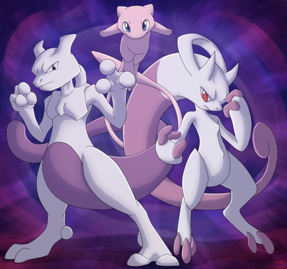 Pokemon Mew And Mewtwo Wallpaper Images Pictures   Becuo 924x864