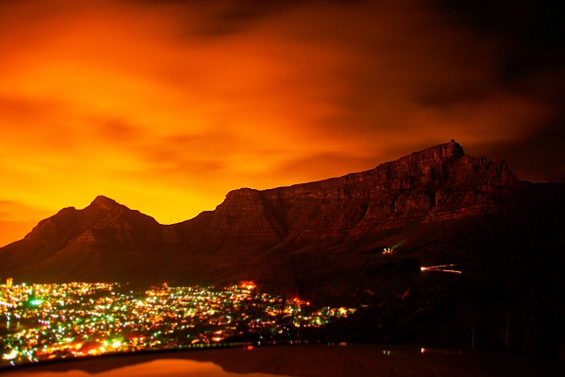 Cape Town Table Mountain wallpaper 1152x768