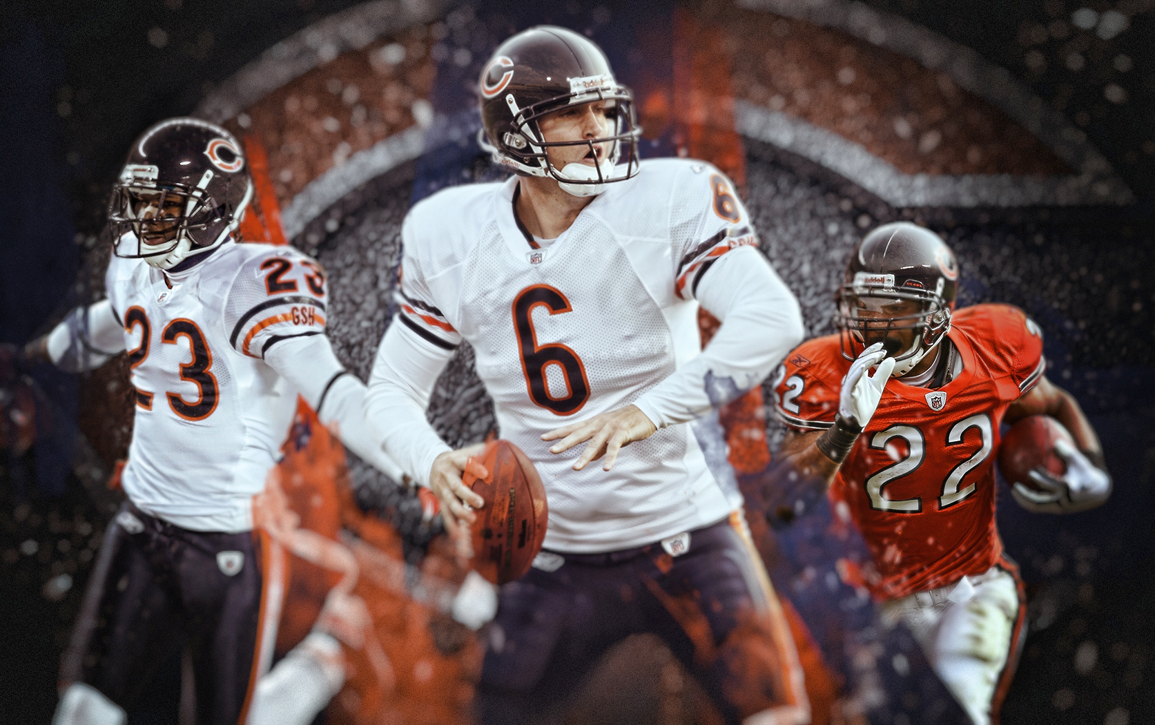 Image search Chicago Bears wallpaper 1920x1080 1673x1050