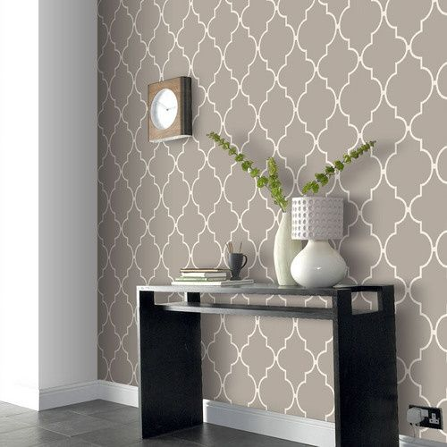 Allen Roth Spanish Tile Wallpaper Just bought this for our bookcase 500x500