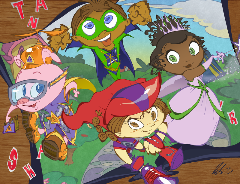 Super Why! Background 10