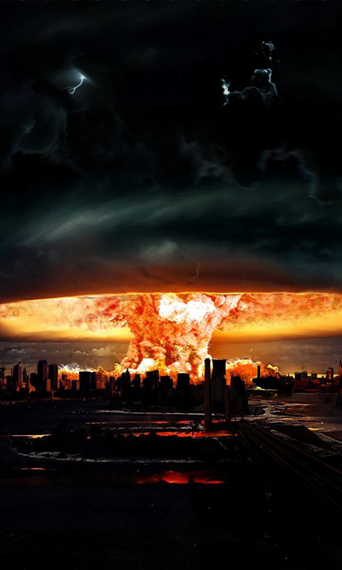 wallpapers hd read this first nuclear explosion hd live wallpapers you 480x800