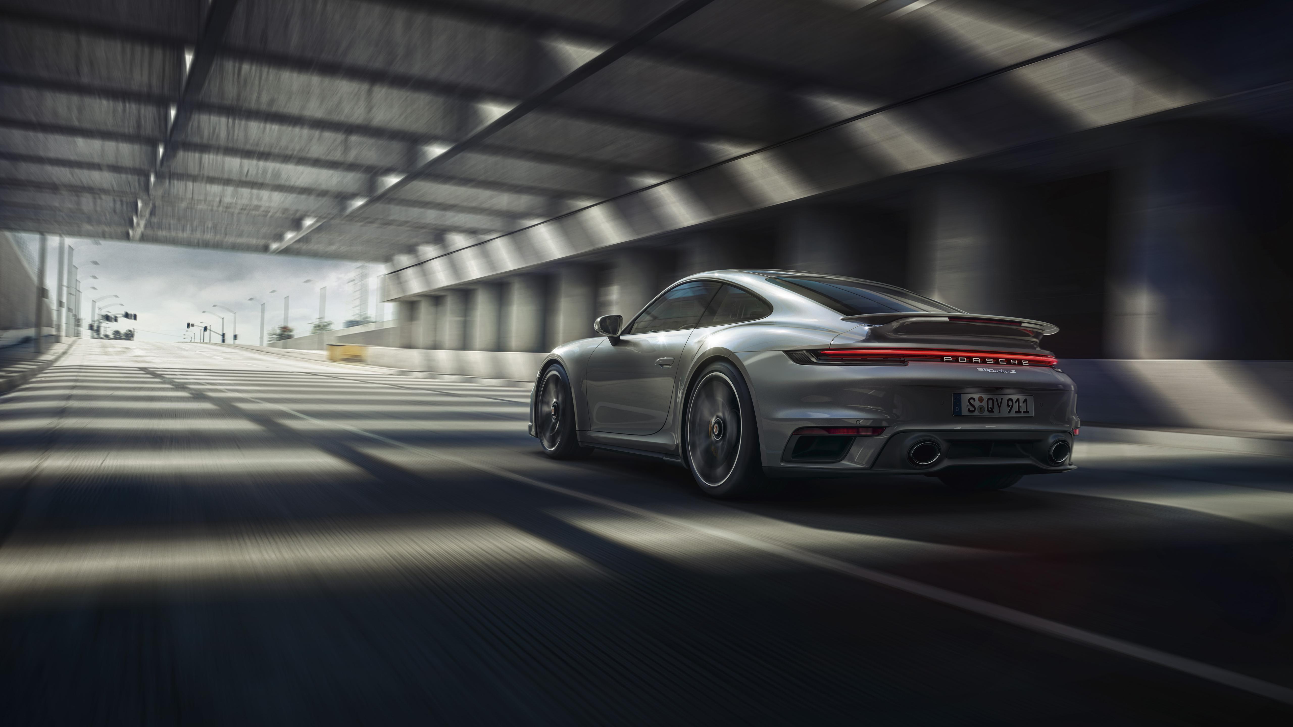 Porsche 911 Turbo S 2020 5K 4 Wallpaper HD Car Wallpapers ID 5120x2880