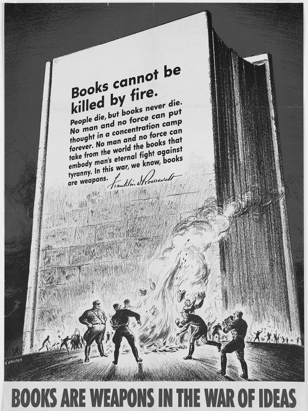 Kindle Wallpaper Books are weapons in the war of ideas Terence 600x800