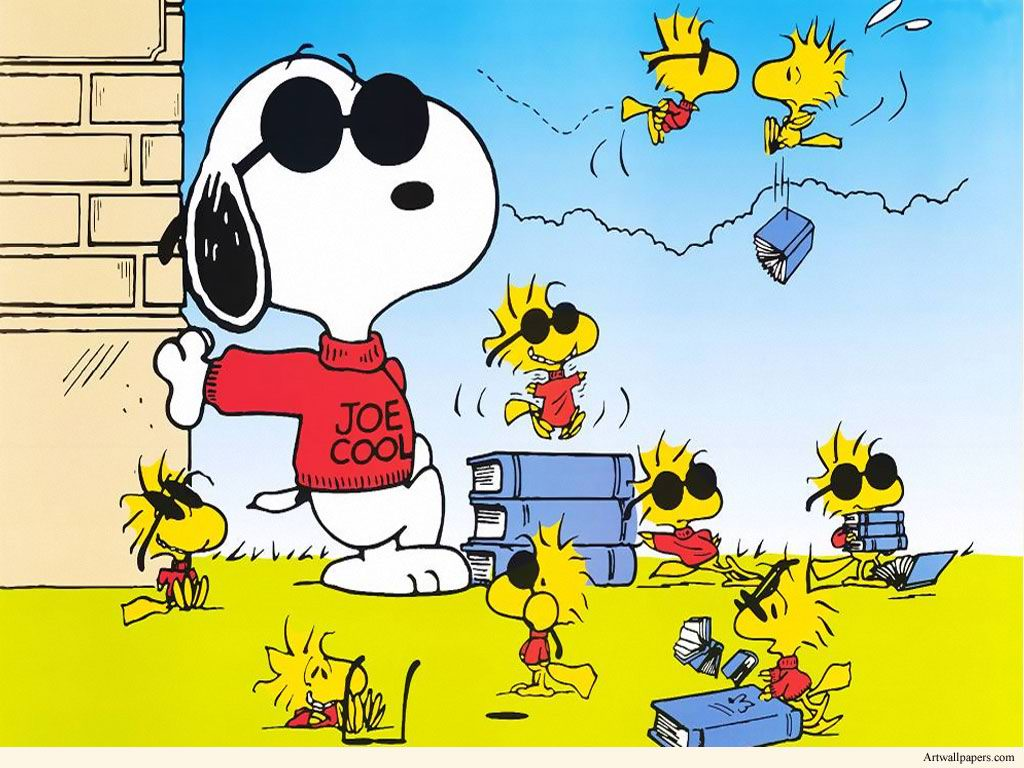 Snoopy Spring Wallpapers 1024x768