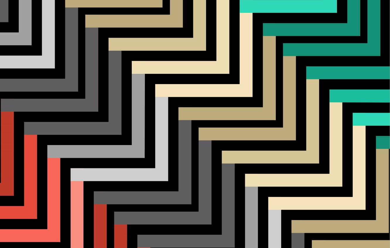 Wallpaper line abstraction texture colorful geometry Abstract 1332x850