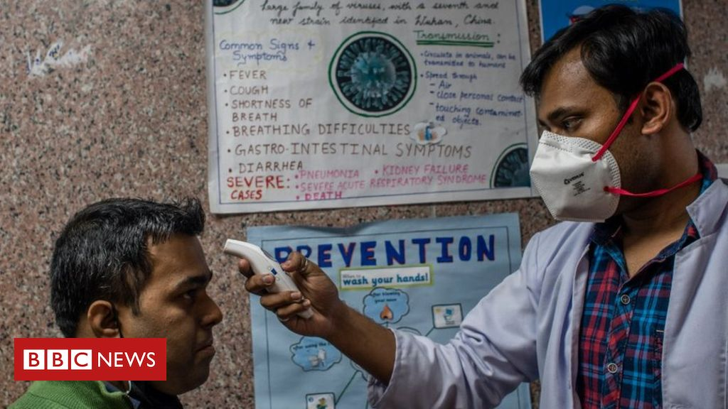 India lockdown Frontline heroes of the coronavirus war   BBC News 1024x576