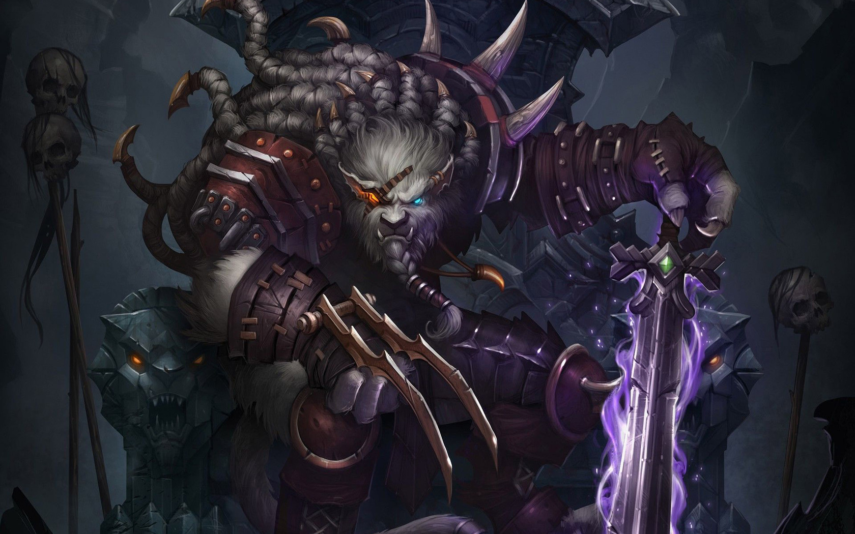 Download Rengar   League of Legends wallpaper 1680x1050