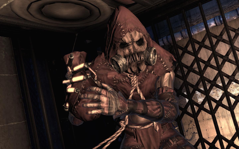 scarecrow arkham asylum 1440x900