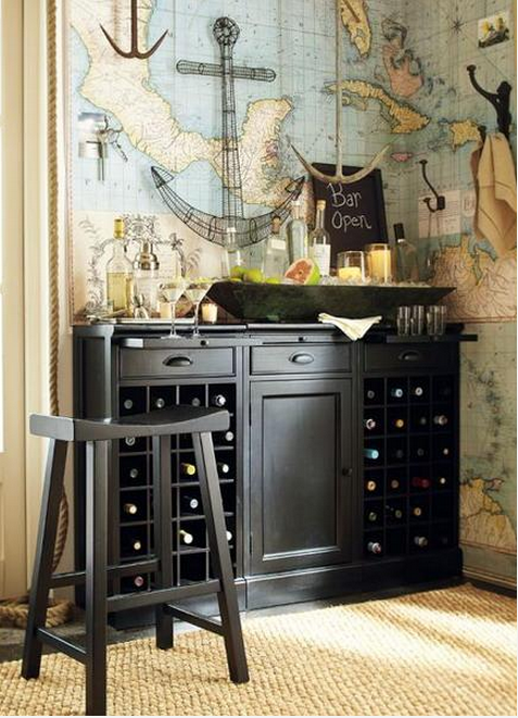 30 Unique Wet Bar Designs for the Home Tenmaniacom 477x661