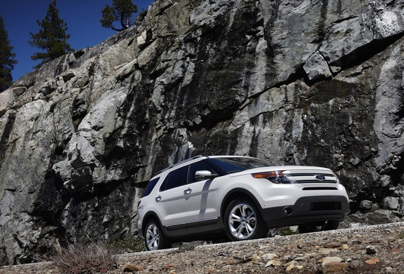 Wallpaper Ford explorer Ford Ford endeavour cliff 590x400