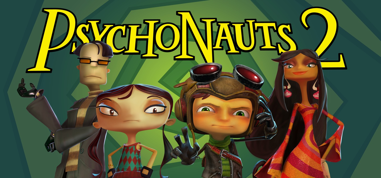 Tim Schafer images Psychonauts 2 Banner HD wallpaper and 1600x748