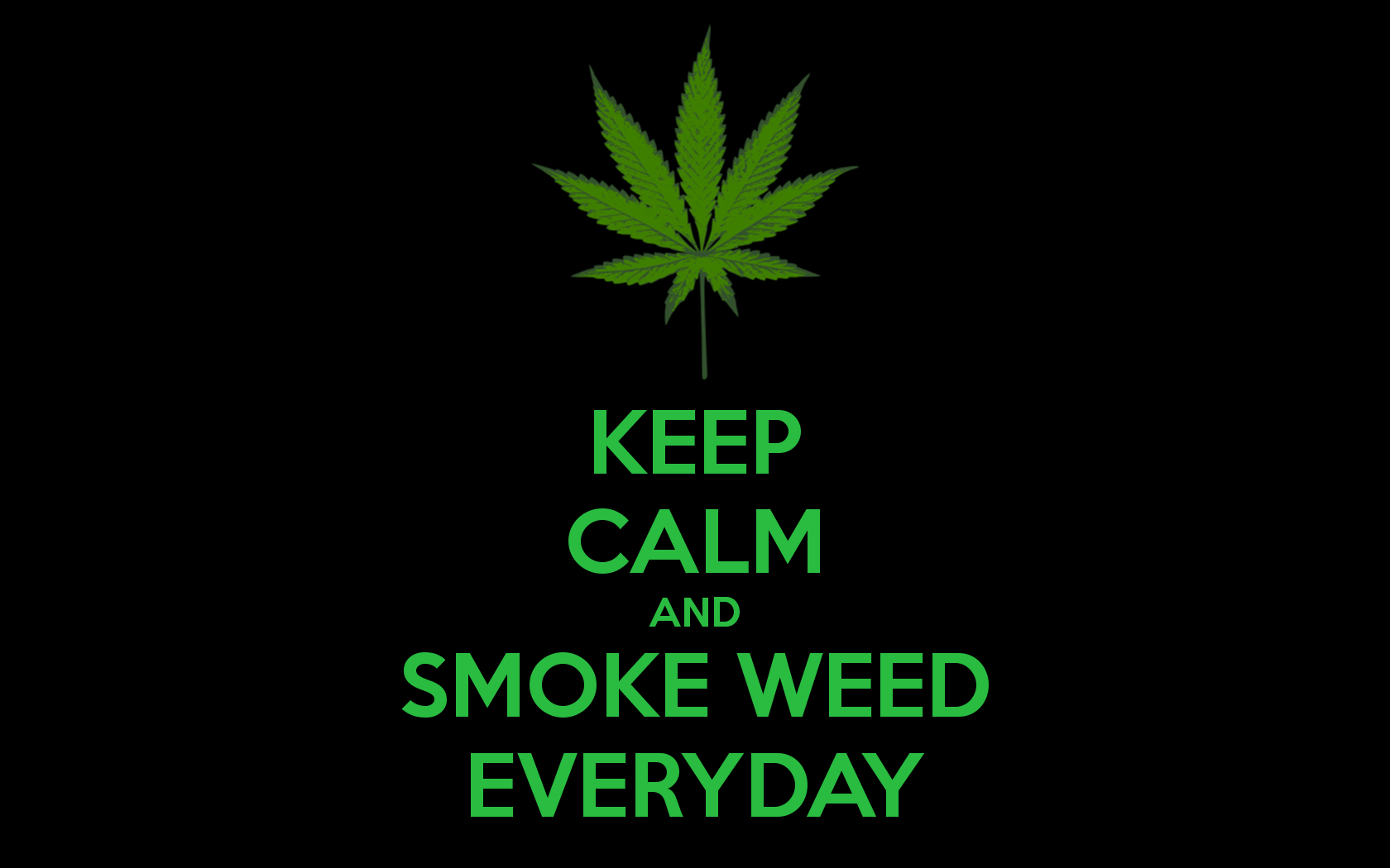 Weed HD Wallpapers Group 74 Keep Calm
