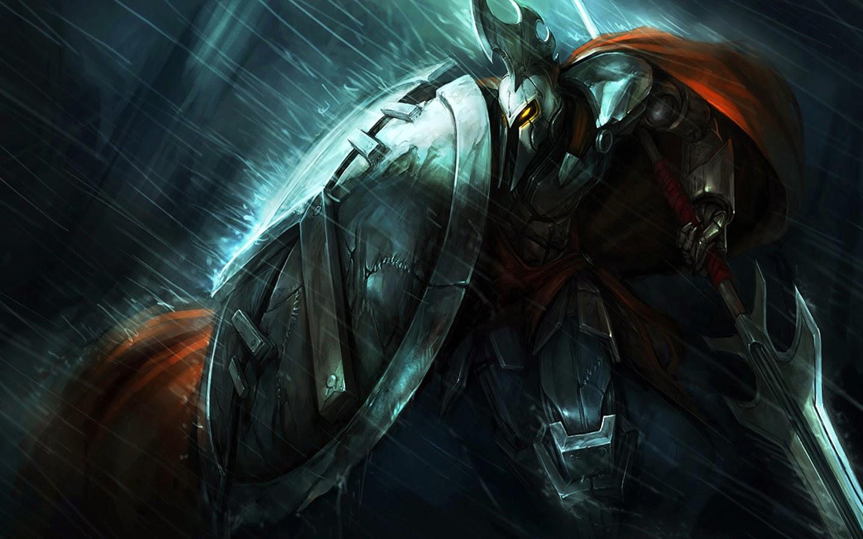 Pantheon Spartan Full Metal Shield Spear Armor Raining Warrior Weapon 1440x900