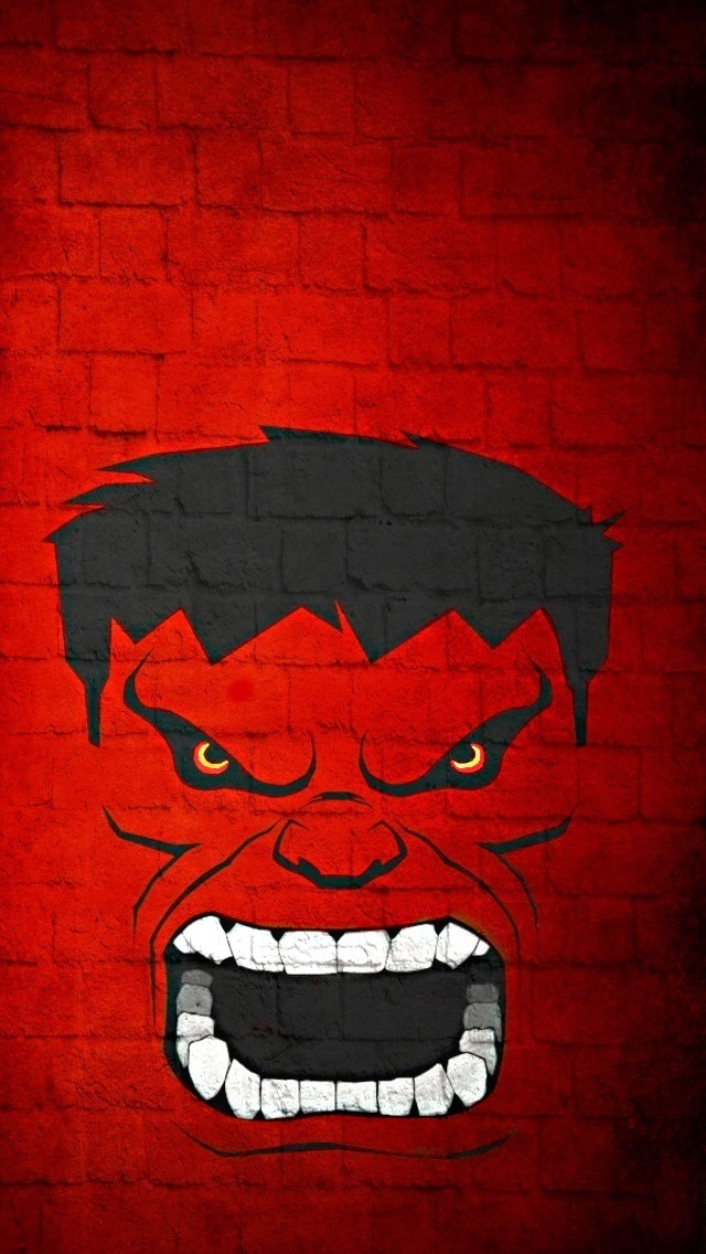 Red Hulk Wallpapers For iPhone   IPhone 5 iPhone5 Wallpaper Gallery 640x1136