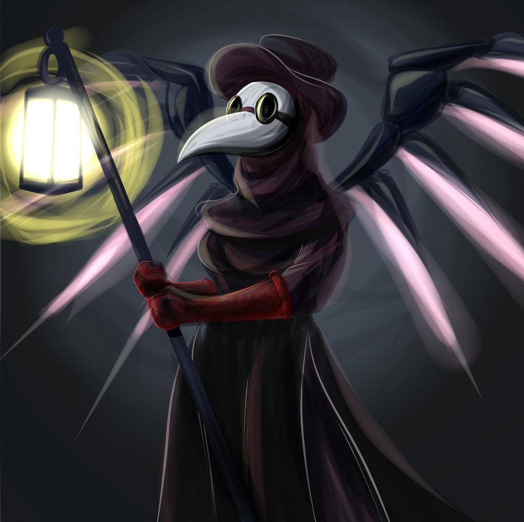Plague Doctor Mercy by ChadRocco 1024x1021