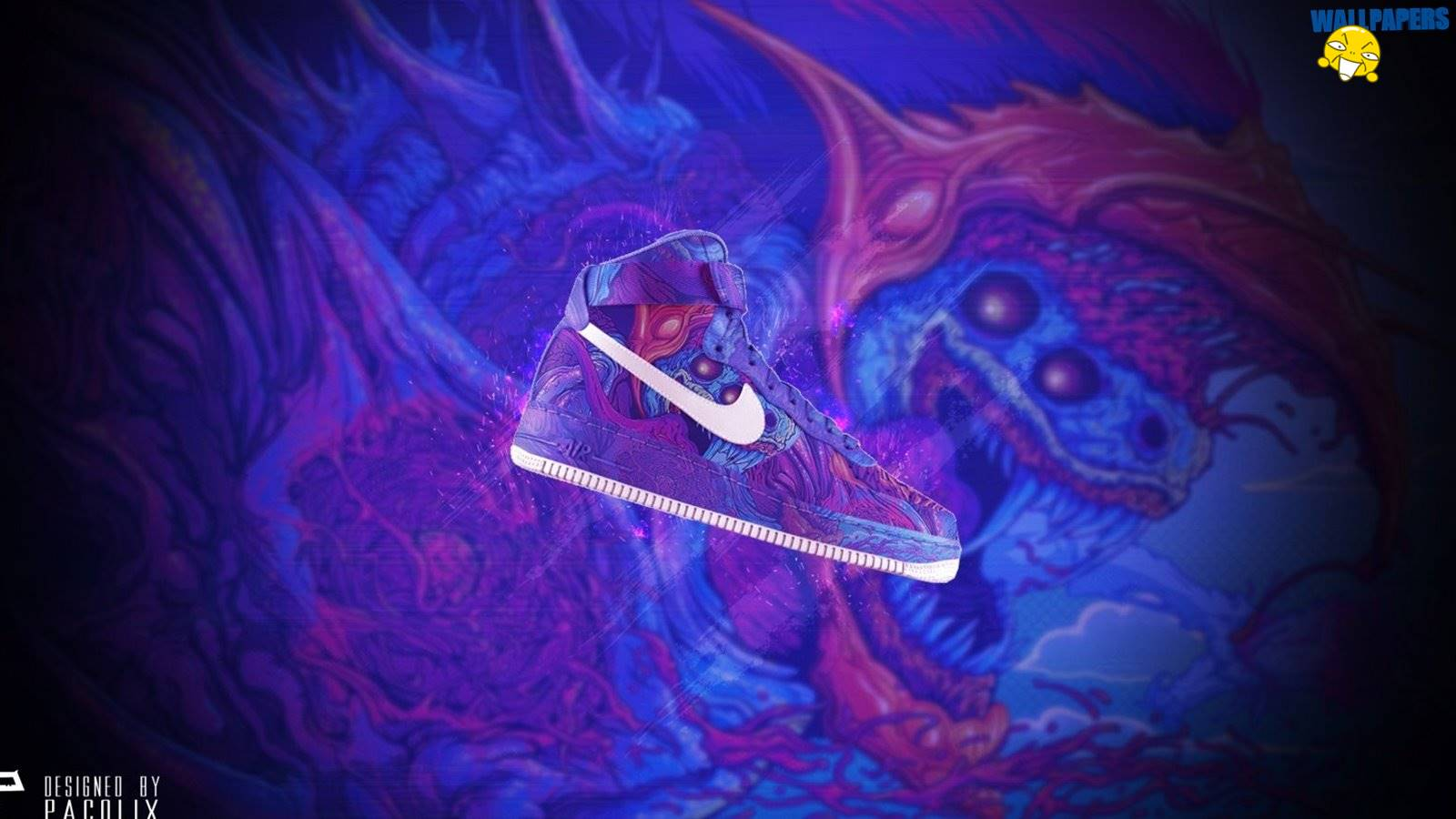 Nike air force hyperbeast wallpaper 1600215900 Creative 1600x900