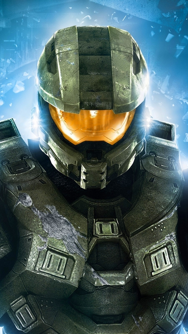 Master Chief Halo 4 iPhone 5 Wallpaper 640x1136 640x1136
