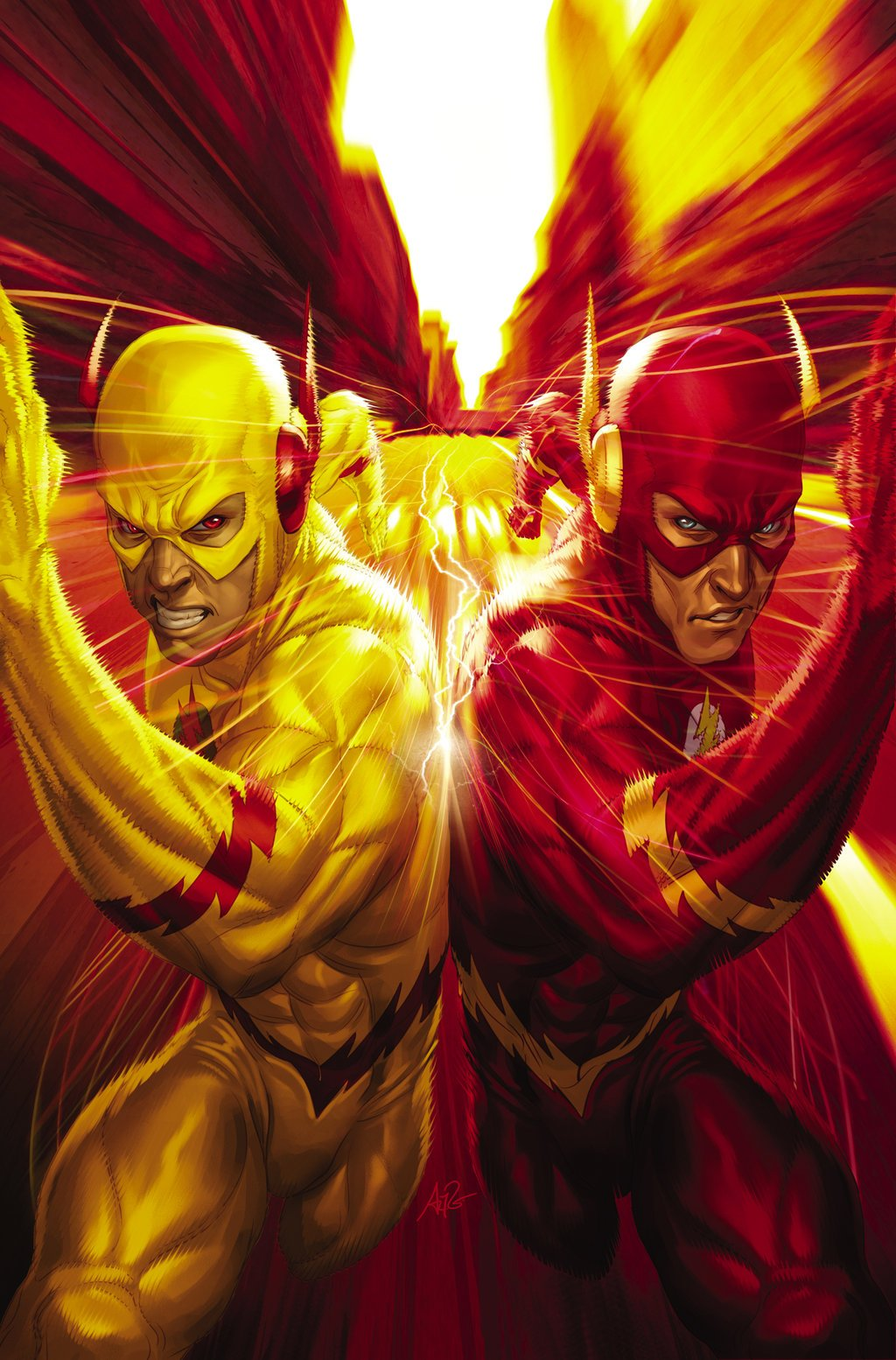 49 Flash Vs Reverse Flash Wallpaper On Wallpapersafari