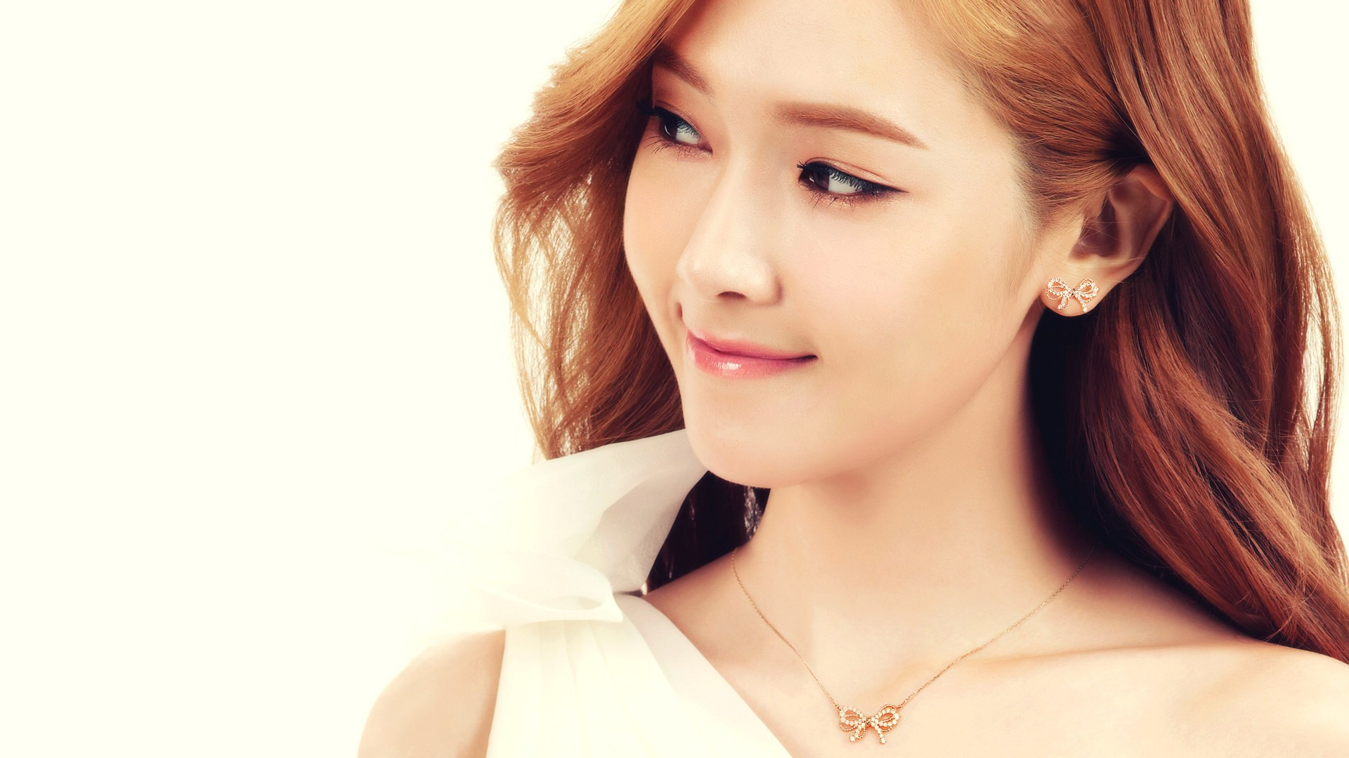 Asian Jessica Jung Girls Generation airbrushed wallpaper 1920x1080