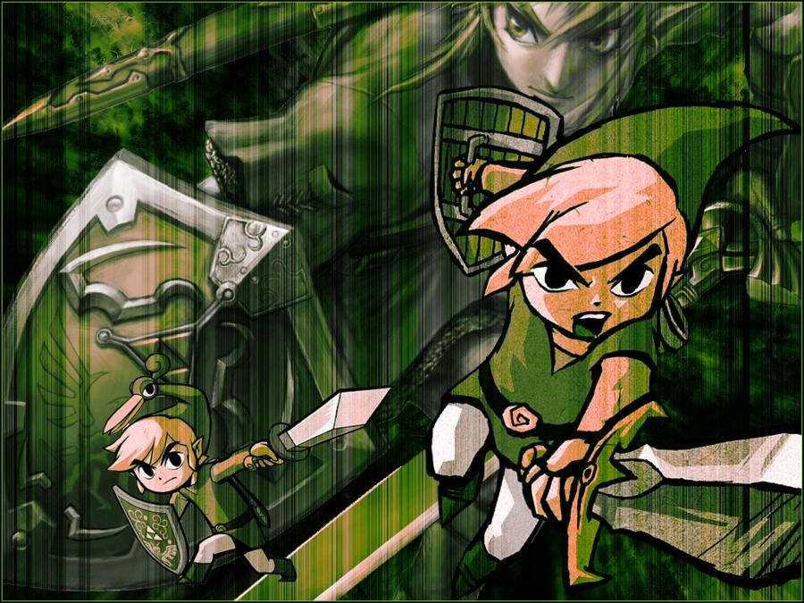 Zelda Desktop Wallpaper by Shad Wolf 900x675