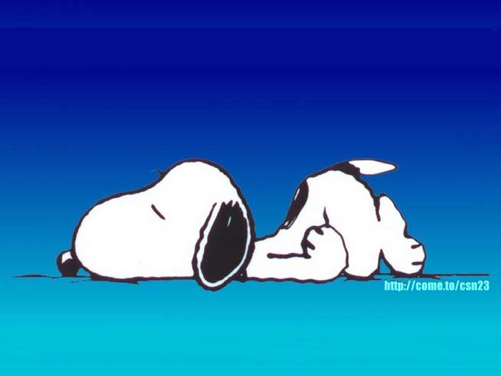 Snoopy Wallpaper 1024x768