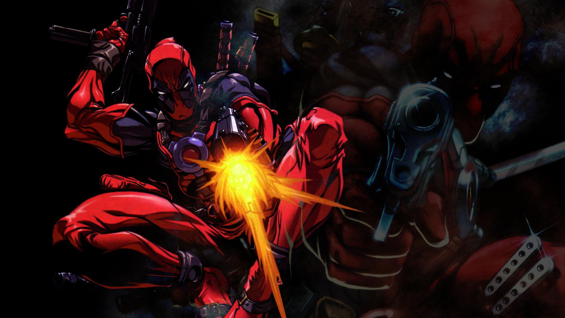 Deadpool wallpapers for desktop wallpapersafari for Deadpool wallpaper 1920x1080