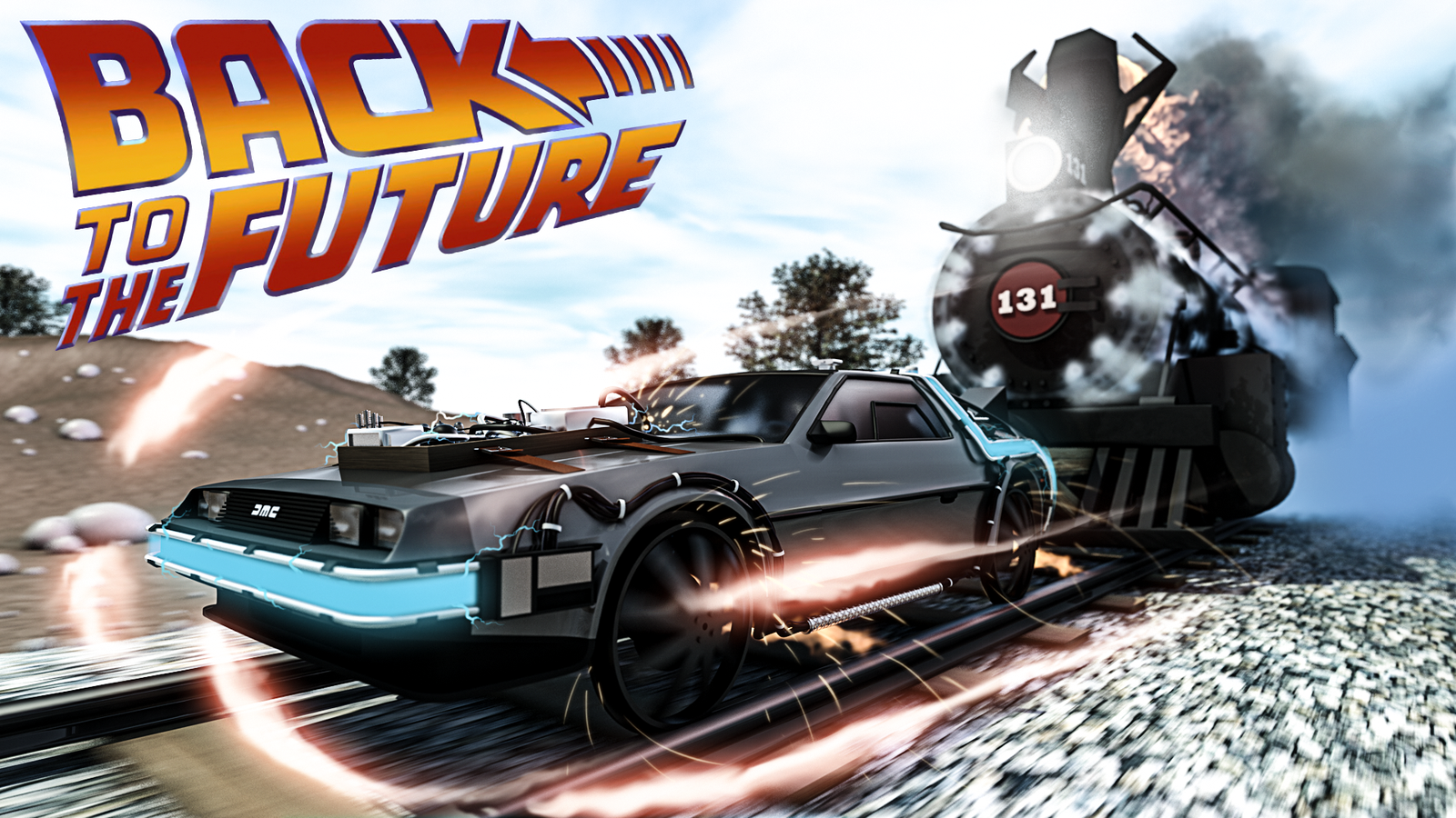 Displaying 9 Images For   Back To The Future 3 Wallpaper 1600x900