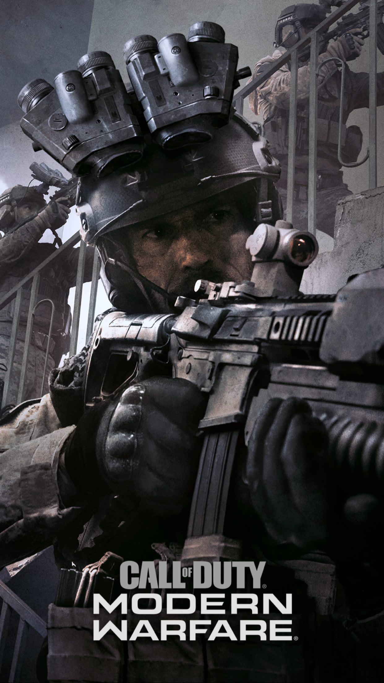 Call of duty Modern Warfare Mobile Phone Wallpaper set 14 of 17 1242x2208