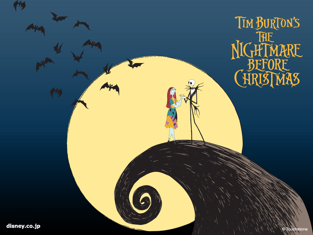download Jack And Sally Nightmare Before Christmas Wallpaper 1024x768