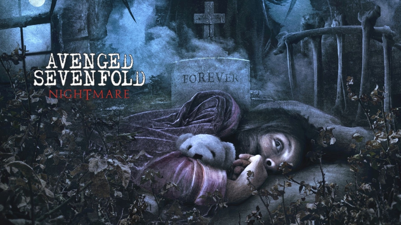 Music Avenged Sevenfold desktop wallpaper nr 54643 by 1366x768