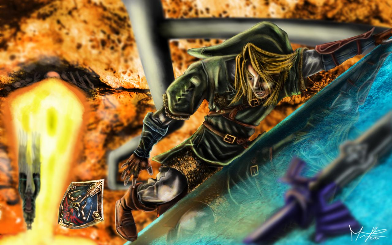 Link vs Zant wallpaper 2 by marcosbaruco 1280x800