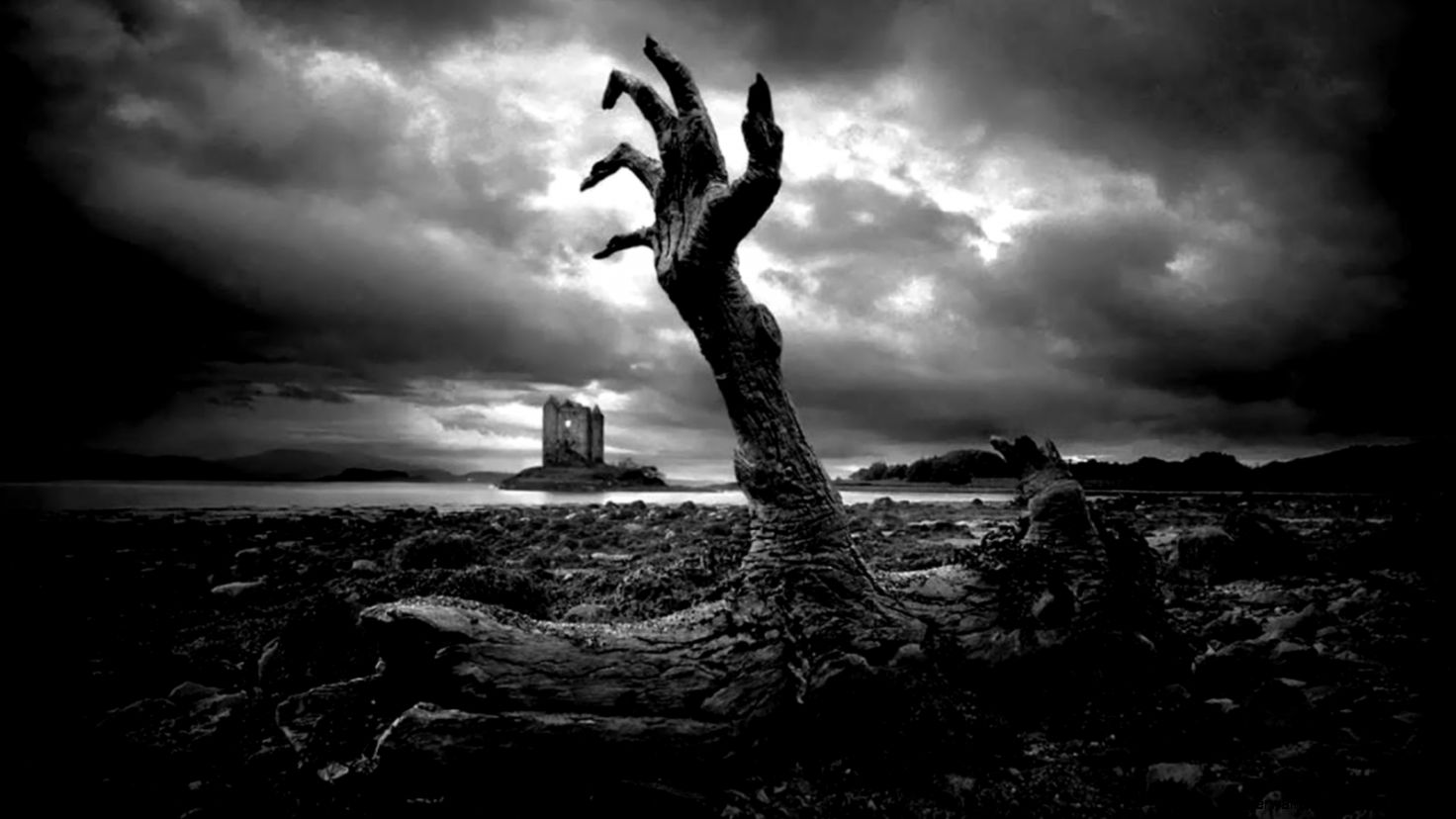 Wallpaper Hd 1080P Black And White Zombie Super Wallpapers 1472x828