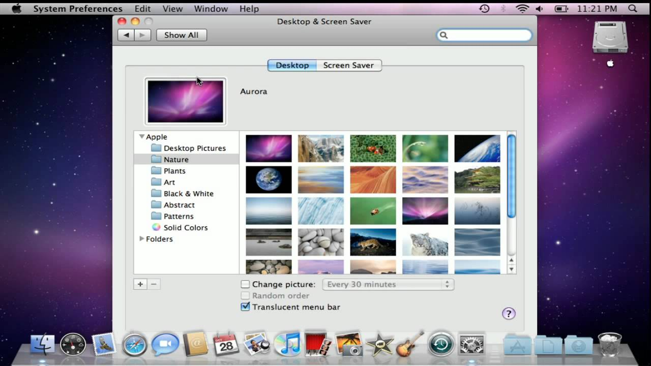 How to Change Your Desktop Background in Mac OS X 1280x720