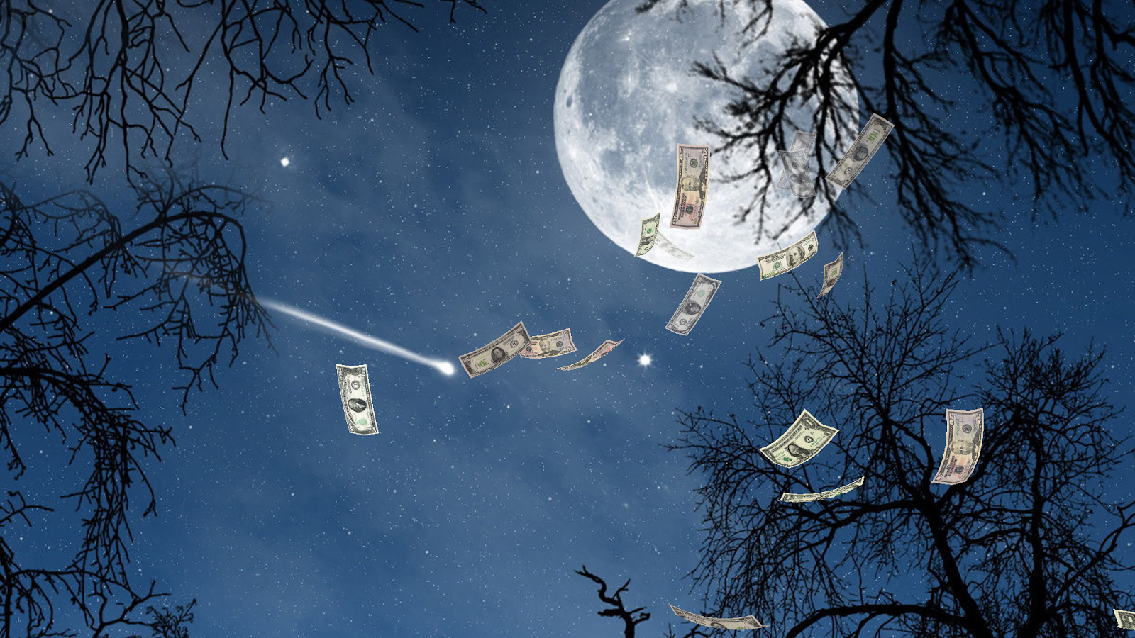 Free Falling Money 3D Wallpaper Android Apps On