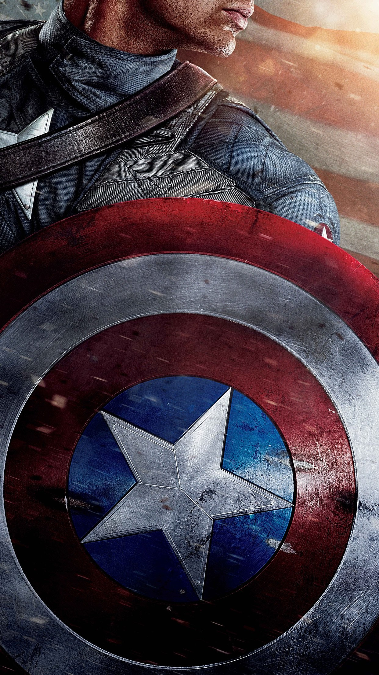 78 Captain America Wallpapers on WallpaperPlay 1242x2208