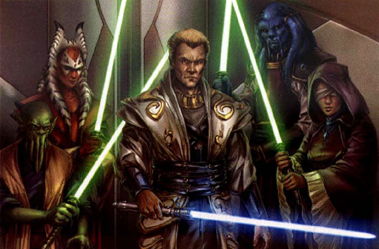 The Covenant   Star Wars Jedi Characters Wallpaper Image 740x486