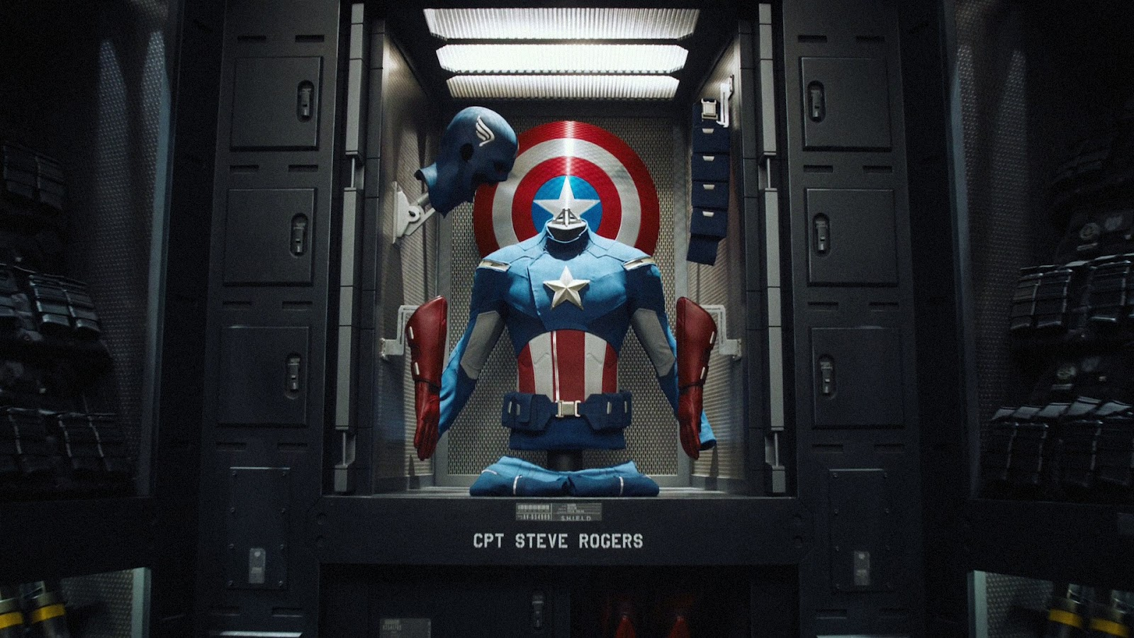 Captain America Costume and Shield The Avengers Movie HD Desktop 1600x900