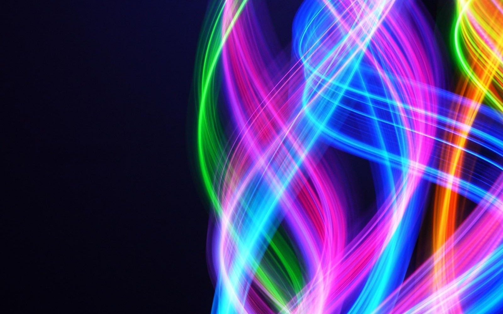 abstract neon eyes - photo #17