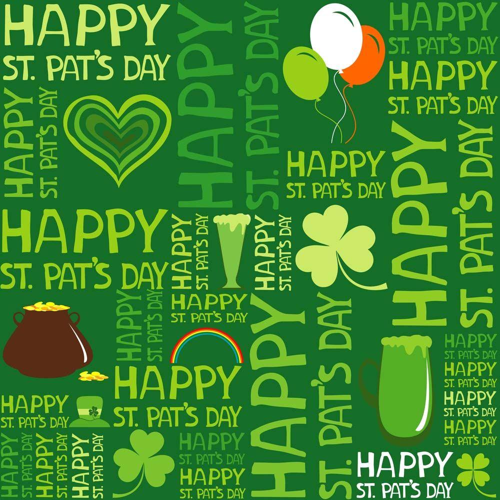 St Patricks Day Backgrounds Happy Saint Patricks Day Background 1000x1000