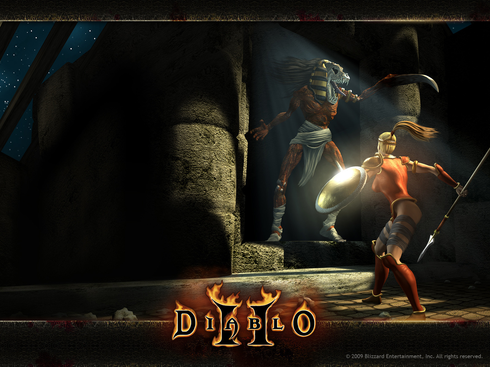 Blizzard EntertainmentDiablo 2 1600x1200