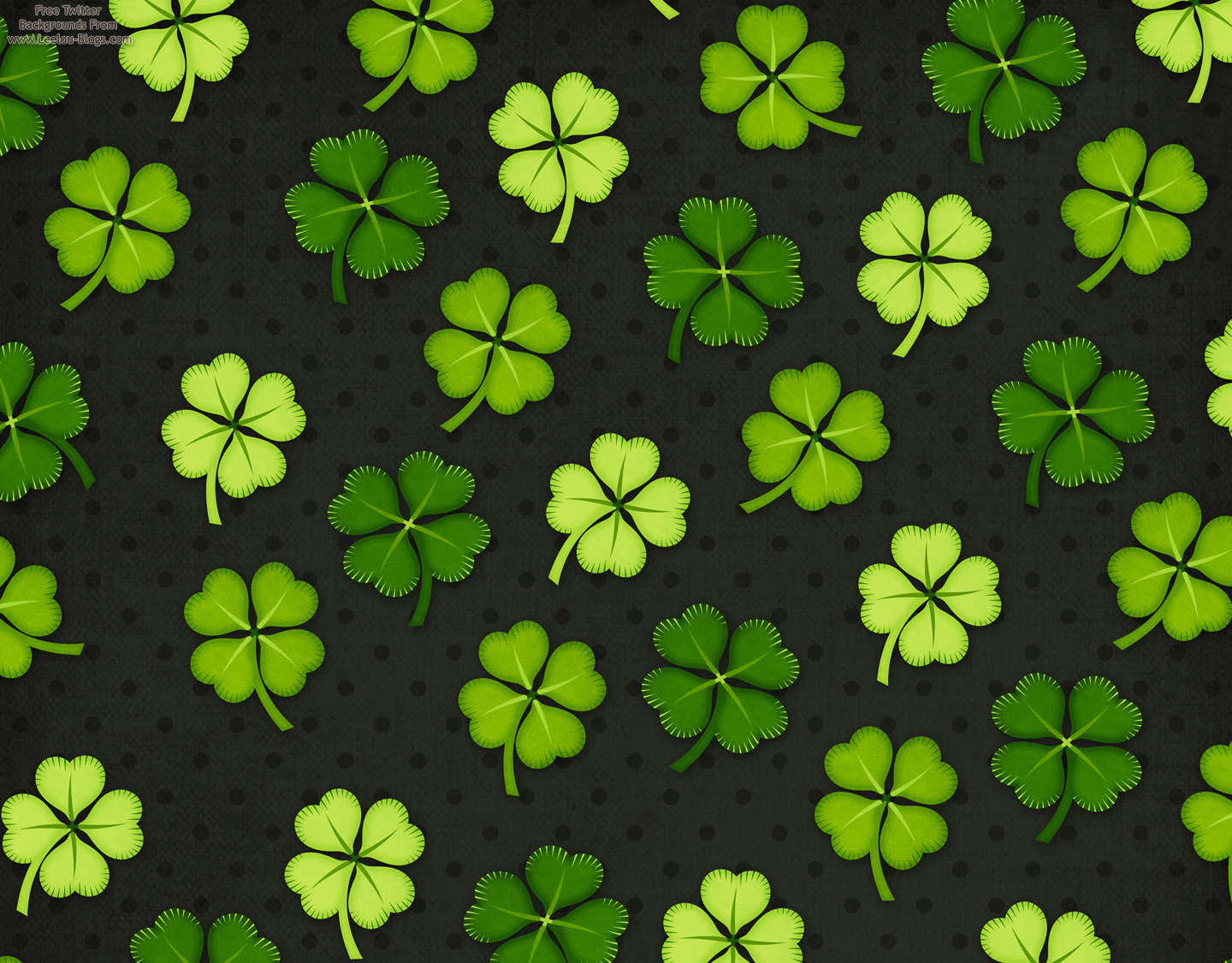 download St Patricks Day Twitter Backgrounds Leelou Blogs 1440x1125
