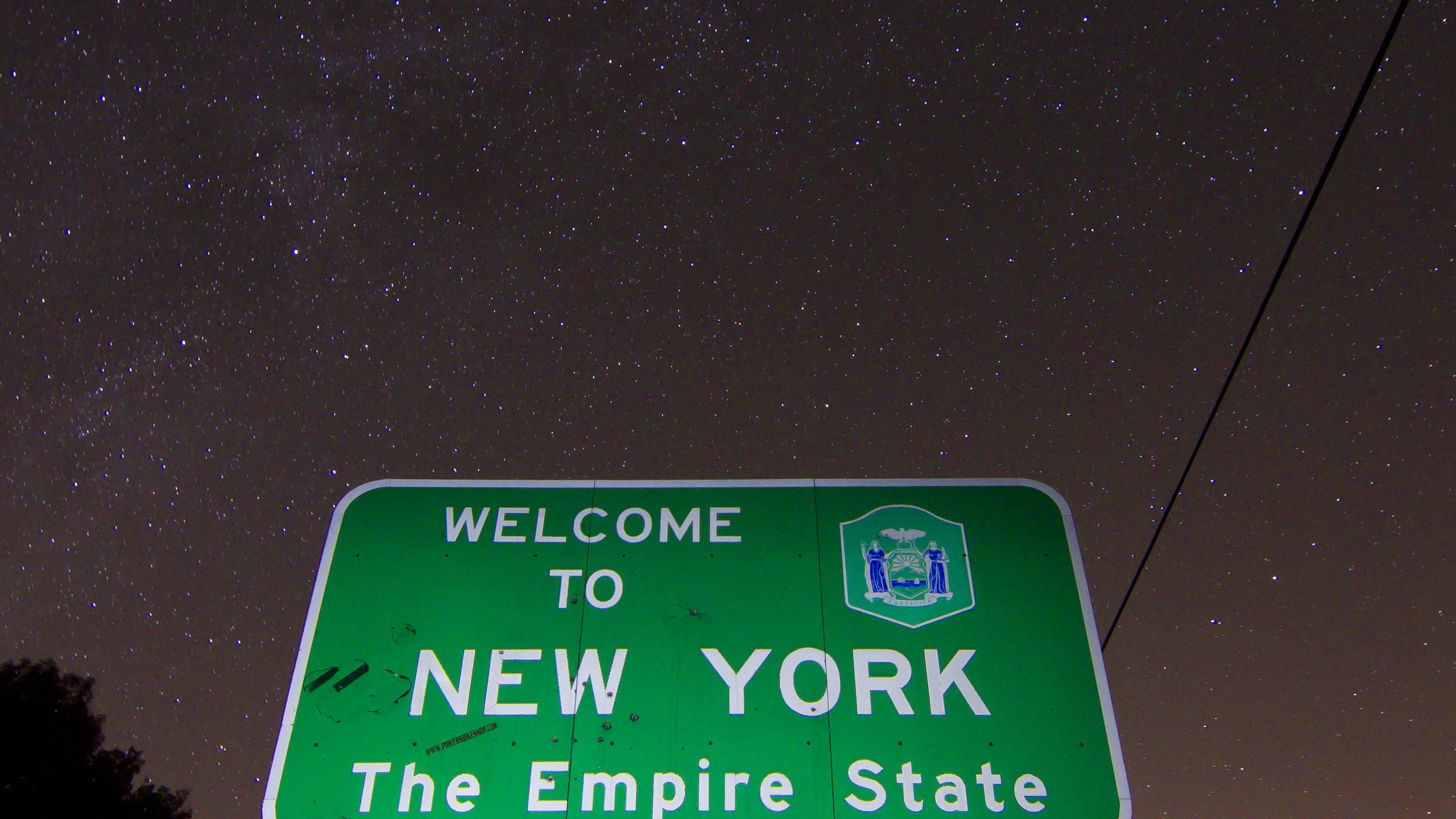 BOTPOST] Milky Way over the PANY State Line on US 62 iimgurcom 2560x1440