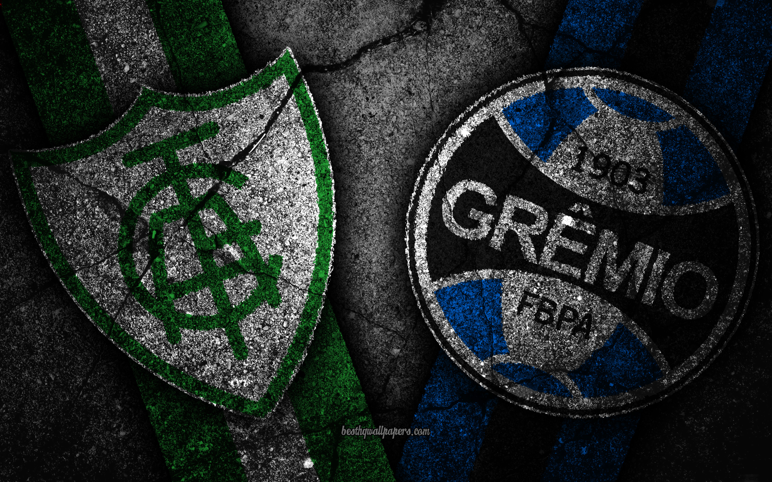 Download wallpapers America MG vs Gremio Round 30 Serie A 2560x1600